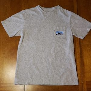 Mens small Gray Vineyard Vines short sleeved shirt